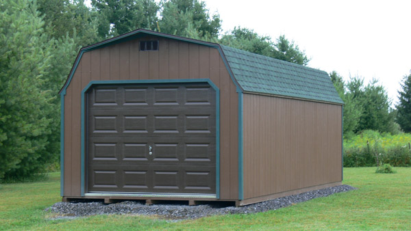 sheds garages wellsboro pa mansfield for painted garage lofted in portable sale