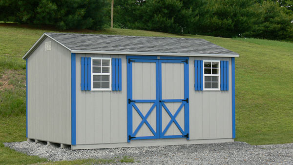 with tan doors pa county half et sale show louvered for vinyl chester in siding sheds duratemp shutters cedar roof optional steel moon quaker